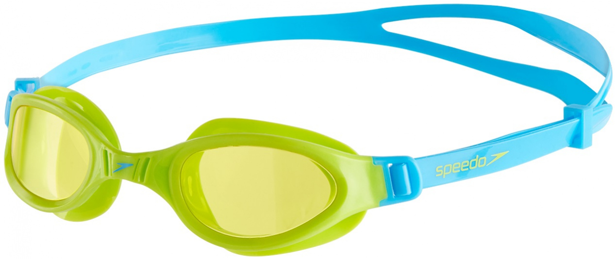 Speedo Futura Plus Junior Zeleno/modrá