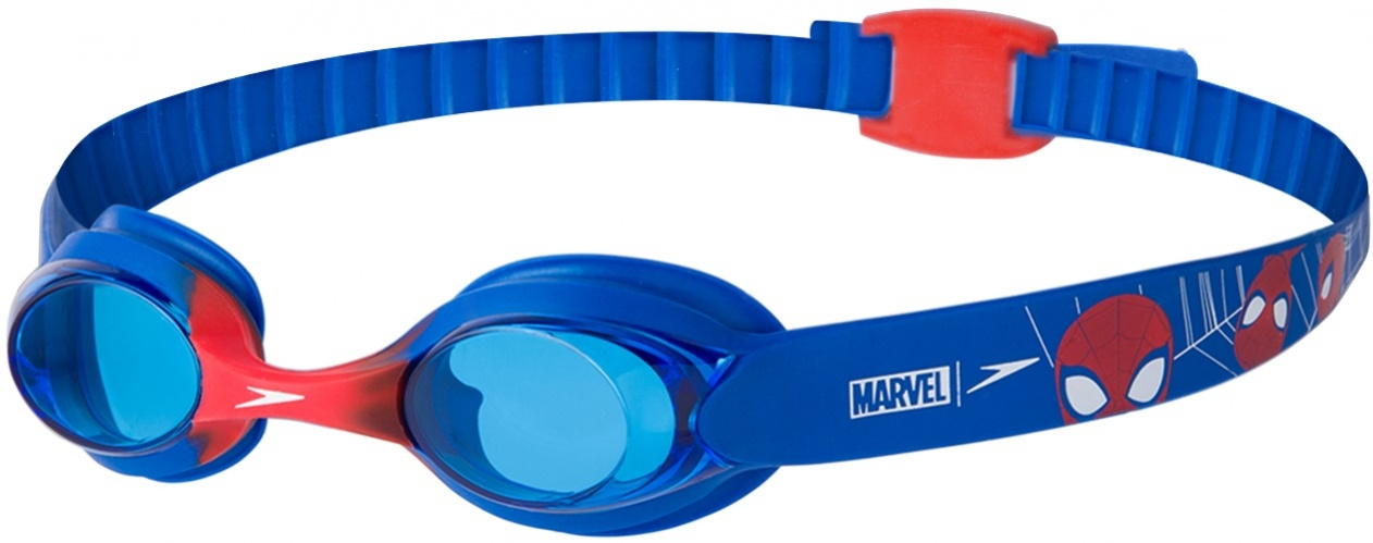 Speedo Disney Spiderman Illusion Goggle Infants Modrá